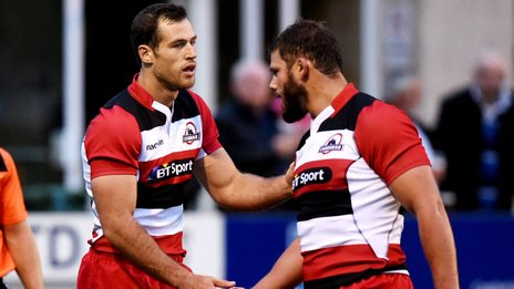 Tim Visser and Ross Ford
