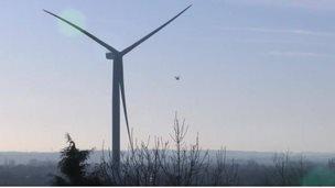 Spondon wind turbine