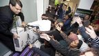 Black Friday shoppers at Asda
