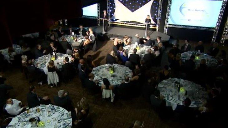 West Midlands Community Sports Awards at Villa Park.