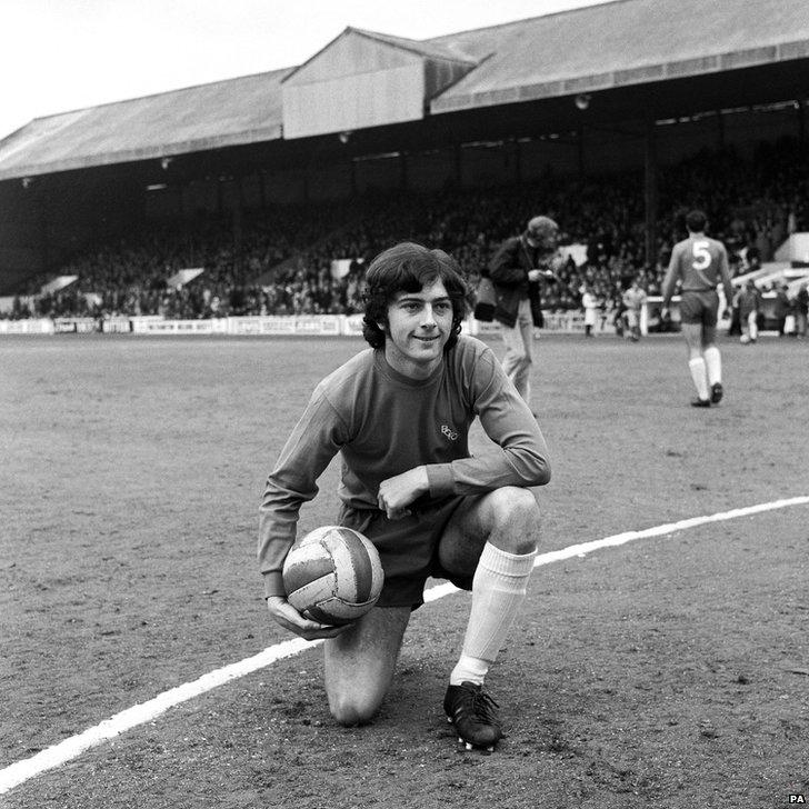 A young Trevor Francis in 1971