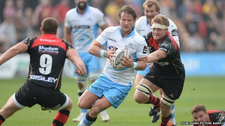 Glasgow v Newport Gwent Dragons