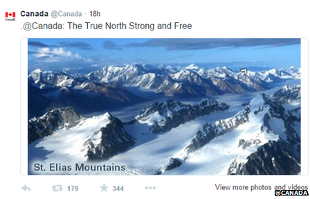 Tweet from @Canada