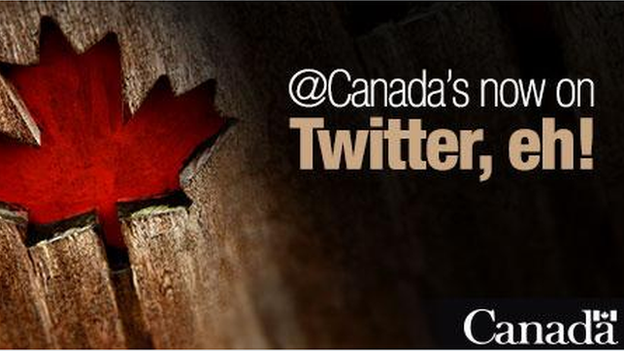 Canada joins Twitter