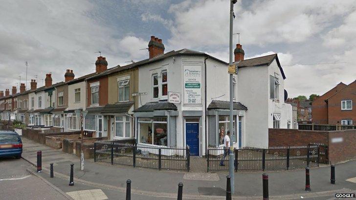 Wajid's Corner Hair Cutting shop on Somerville Road, Small Heath