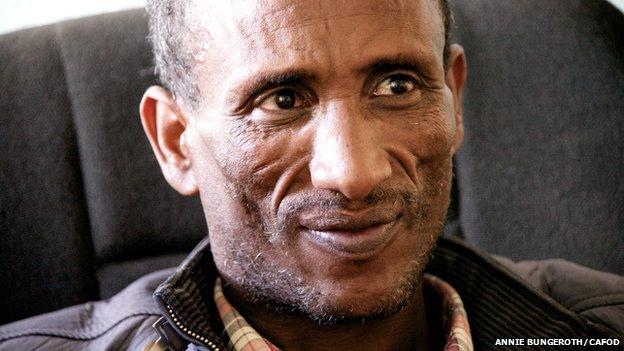 Mesfin in Adigrat, Ethiopia