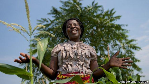 Febby in Ndola, Zambia