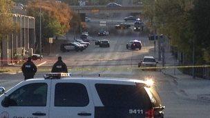 Crime scene, Austin