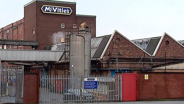 mcvitie 39 s factory in tollcross glasgow to axe 166 jobs bbc news. Black Bedroom Furniture Sets. Home Design Ideas
