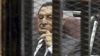 Hosni Mubarak in court in Cairo (21 May 2014)