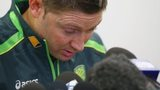 Michael Clarke in tears