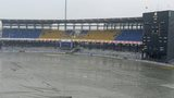 Rain at the R Premadasa Stadium on Wednesday