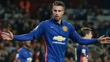 Robin van Persie in action against Arsenal