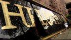 Broken Clutha sign