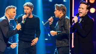 BBC News - Take That and Olly Murs top UK charts