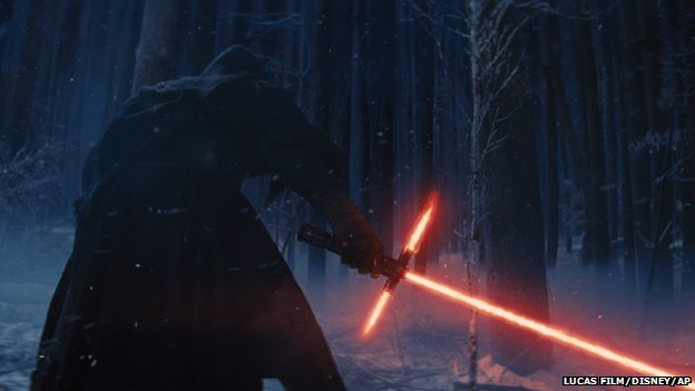 Are showcased in the teaser trailer for the new star wars movie
