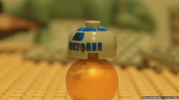 Lego Star Wars trailer