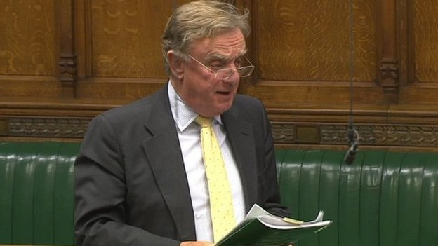 Sir Richard Ottaway in the House of Commons