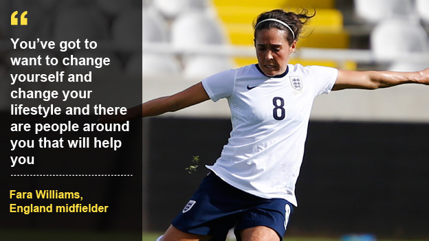 Inspire to be like Fara Williams