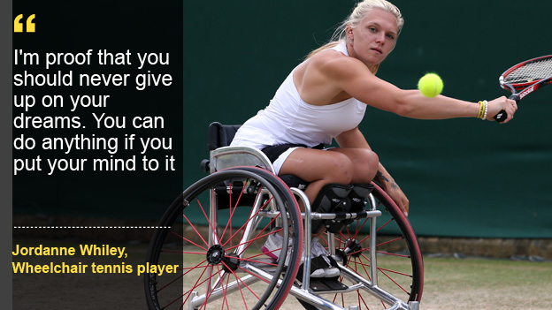 Inspire to be like Jordanne Whiley