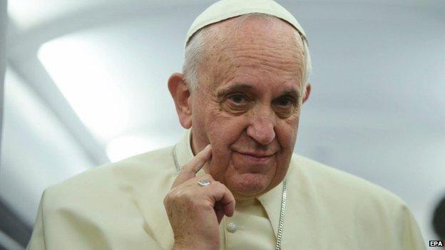 A pontiff yesterday