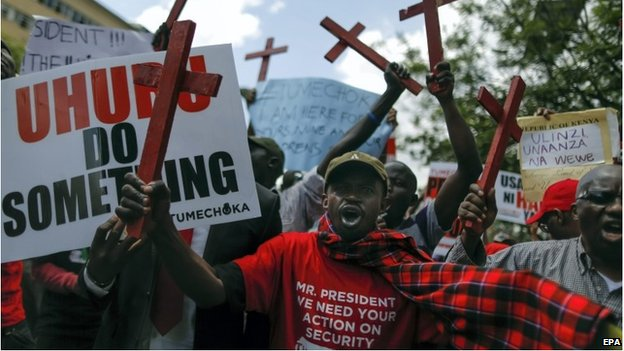 Protests in Nairobi, 25 November 2014