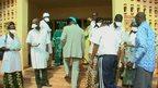 Ebola check in Mali