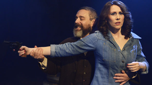 Andy Nyman and Catherine Tate in Assassins