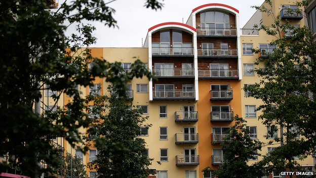 block of flats in Greenwich
