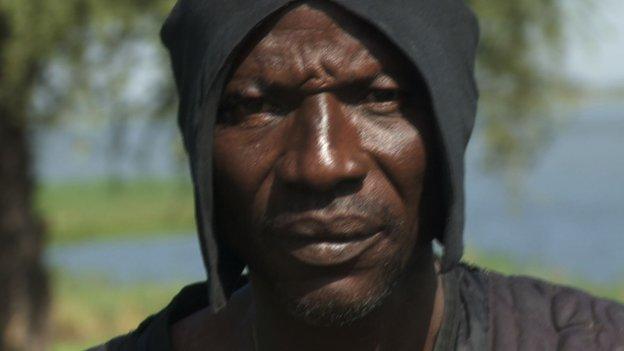 Vigilante fighter Umar Dawaki