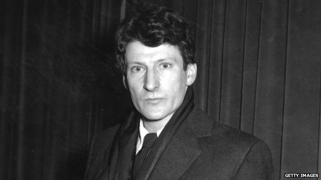 Lucian Freud, pictured in 1958