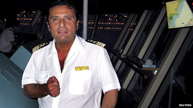 Francisco Schettino, pictured in an undated image released in 2012