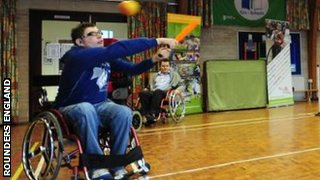 wheelchair rounders player