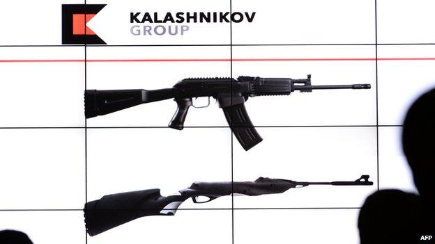 Images of new-look Kalashnikov