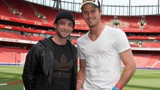 Phillip Hughes and Nick Compton