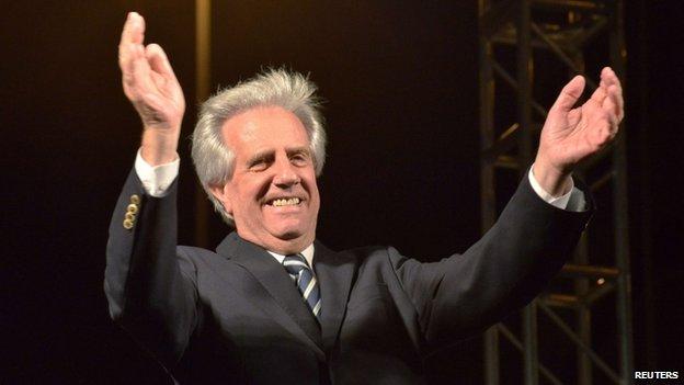 President-elect Tabare Vazquez