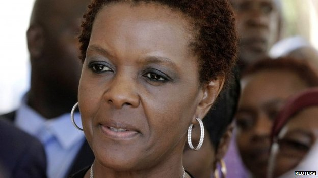 Zimbabwean first lady Grace Mugabe - 2 December