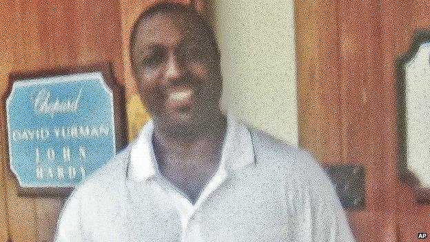 Undated photo of Eric Garner.