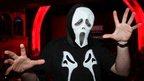 Man in a Scream mask