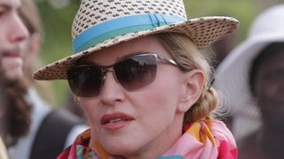BBC News - Madonna topless photos criticised during a debate at Holyrood