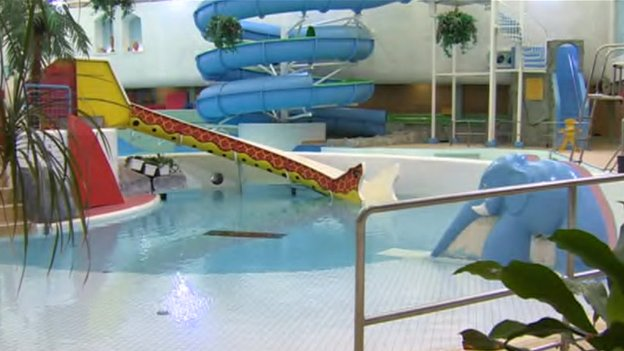 Plas Madoc Leisure Centre Reopens As Splash Magic Bbc News