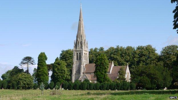 Holy Innocents church in Highnam