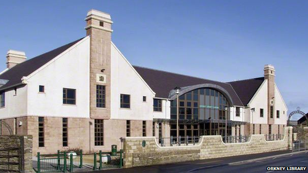 The bricks-and-mortar version of Orkney Library