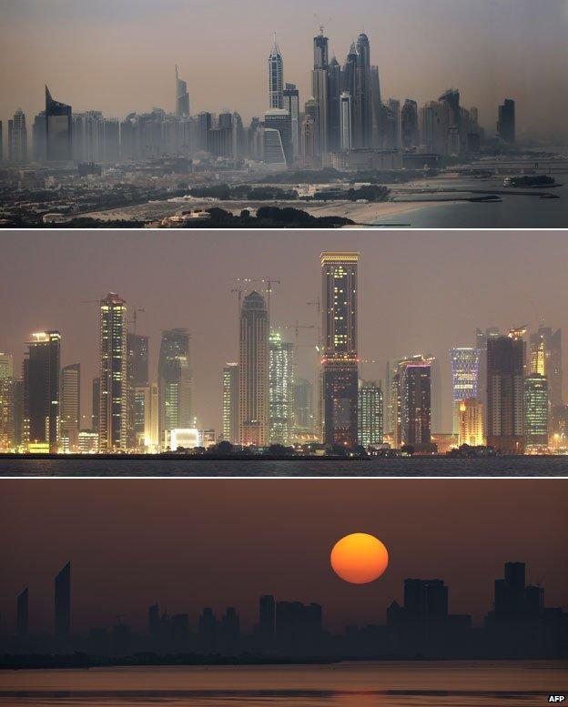 Gulf cities composite