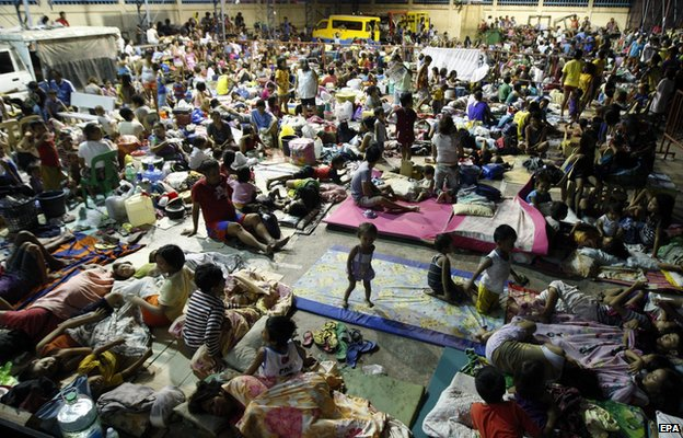 _79549896_79549895 - Typhoon Ruby (Hagupit) evacuees images - Philippine Daily News
