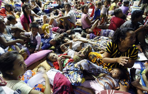 _79550277_79550276 - Typhoon Ruby (Hagupit) evacuees images - Philippine Daily News