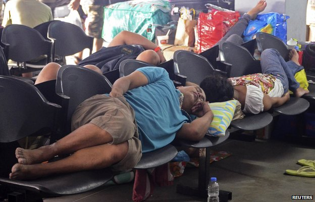 _79550281_79550280 - Typhoon Ruby (Hagupit) evacuees images - Philippine Daily News