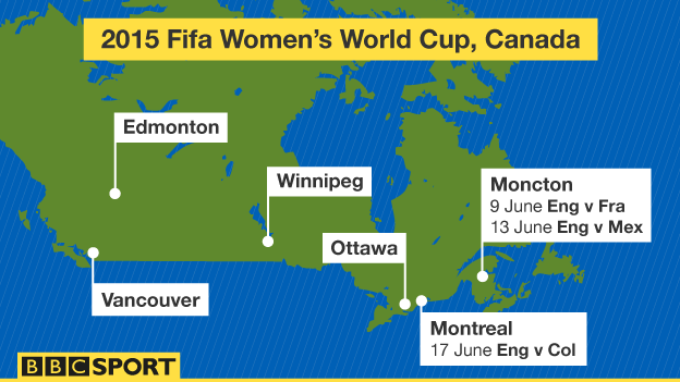 matches at the 2015 World Cup (two games in Moncton, one in Montreal ...