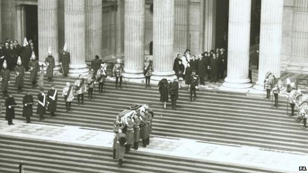 The statesman's funeral, which will be the focus of the new documentary, took place on January 30, 1965
