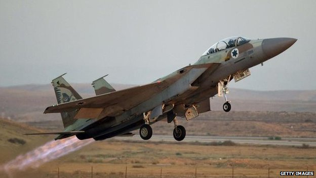 Syria hit by Israeli jets
